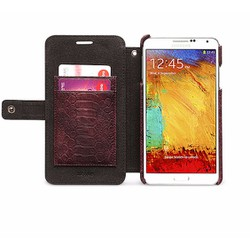 Bao da Zenus Croco Diary cho Galaxy Note 3