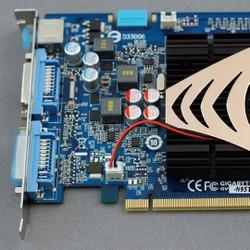 Card màn hình GIGABYTE GT 9500 1G, GDDR2, 128 Bit - Cũ
