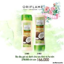 Bộ dầu gội xả dành cho tóc khô và hư tổn