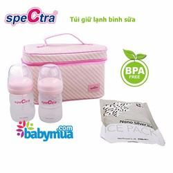 Túi giữ lạnh bình sữa Spectra Hàn Quốc
