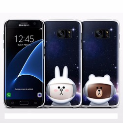 Ốp lưng X Line Friends Galaxy S7 Edge chính hãng