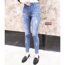quần jean rách nữ