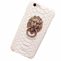 Ốp lưng móc khóa dành cho iPhone 5 5s Họa tiết sư tử
