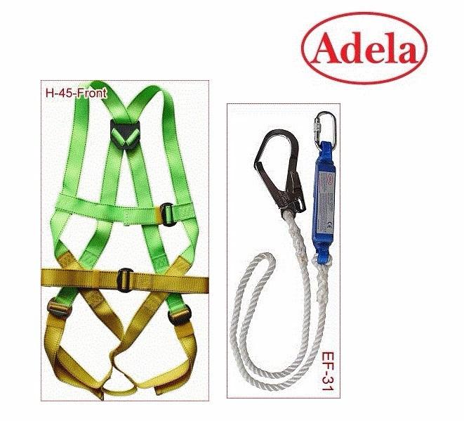 Dây đai an toàn toàn thân Adela 1 móc lớn - có giảm sốc 1