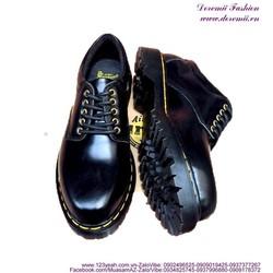 Giày da nam Doctor cổ thấp mẫu mới lịch lãm GDOC33