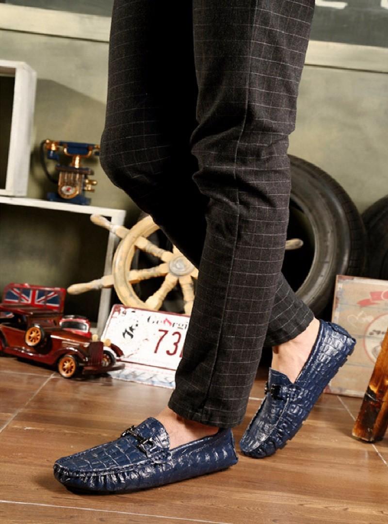 giày lười nam da thật SP-147 HOT 2017 9