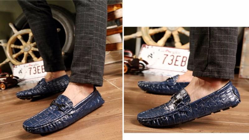 giày lười nam da thật SP-147 HOT 2017 8