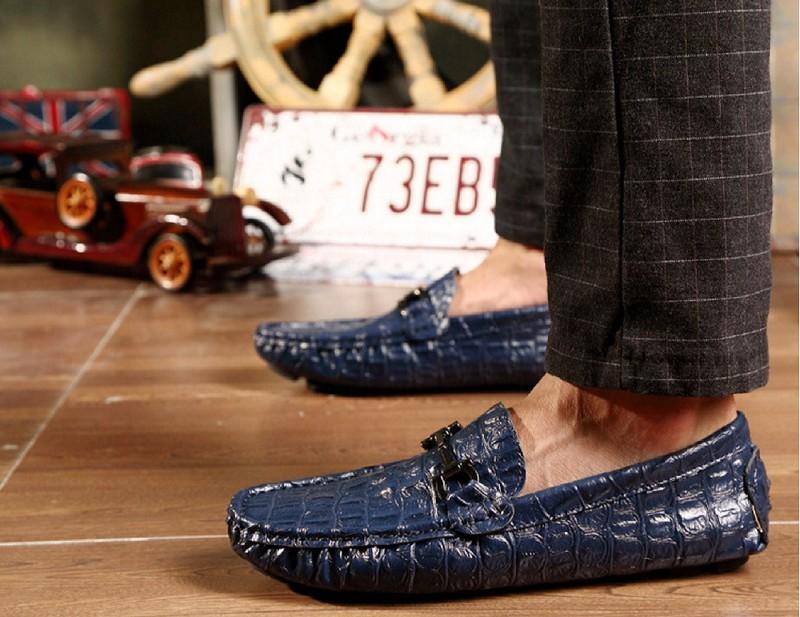 giày lười nam da thật SP-147 HOT 2017 7