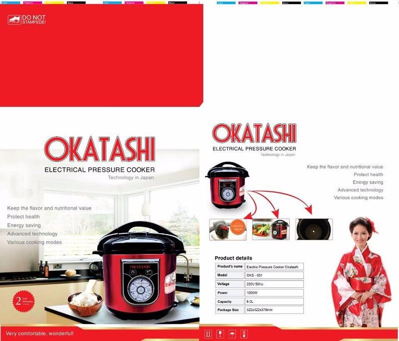 Nồi áp suất OKATASHI nhật bản 1