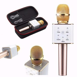 MICRO KARAOKE Q7 BLUETOOTH KÈM LOA 3 IN 1
