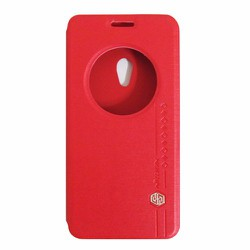 Bao da Zenfone 5 hiệu Nillkin Sparkle màu đỏ