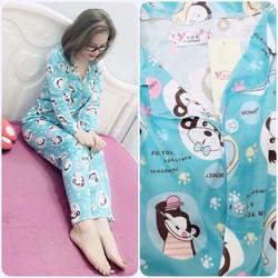 Set bộ dài pijama hàng qc - A28160