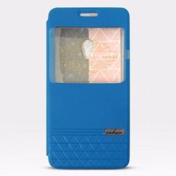 Bao da Zenfone 5 hiệu Oskar màu xanh nước biển