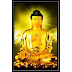 Tranh Phật giáo - A Di Đà - 19