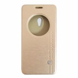Bao da Zenfone 5 hiệu Nillkin Sparkle màu vàng kem