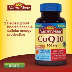 Thuốc hổ trợ và điều trị tim mạch 200mg - 140v - Nature Made