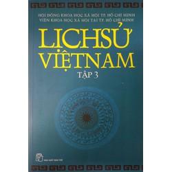 Sách - Lịch sử Việt Nam - tập 3