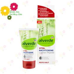 Kem dưỡng da Đức Alverde phục hồi collagen cho làn da 40 đến 55 tuổi