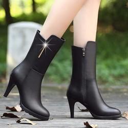 B011D - Giày bốt nữ cao cổ sang trọng