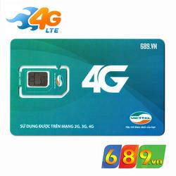 Sim 4G Viettel Không Giới Hạn Trọn Gói 1 Năm
