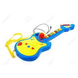 Đàn ghita có mic ươm mầm tài năng cho bé