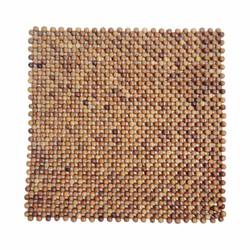 Đệm lót ghế văn phòng bằng gỗ hương mộc hạt 1,2 cm