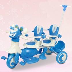 xe đạp 3 bánh đôi cho bé
