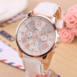 SHOCK - đồng hồ nữ dây kim mặt tròn cao cấp  giá sỉ cho khách hàng lẻ