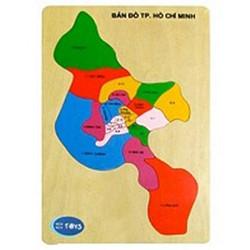 Bản đồ TP HCM