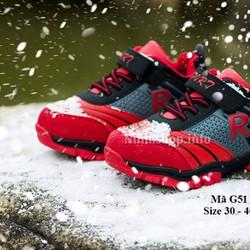 Giày thể thao bé trai 5 tuổi trở lên G51