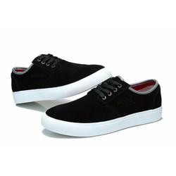 Giày da lộn chất lượng tốt màu đen mới