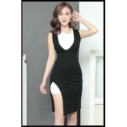 Đầm đẹp dạo phốthiết kế đơn giản dễ thương M31099