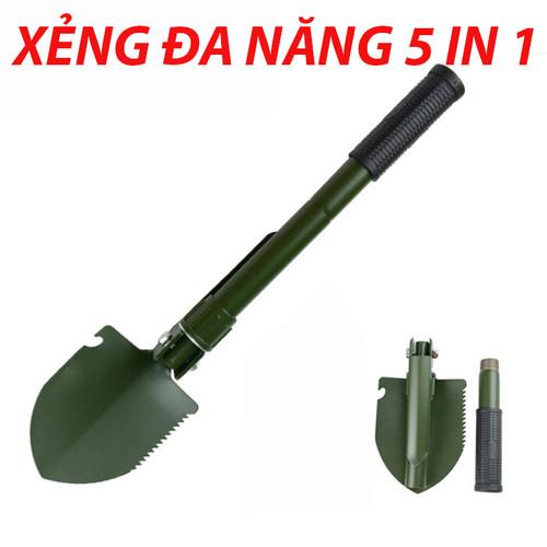 XẺNG ĐI PHƯỢT ĐA NĂNG , T-MAN TOOLS 5 IN 1