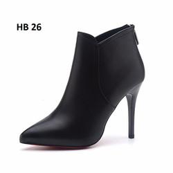 Giầy boot cao cấp, mẫu mã mới nhất mùa thu đông này - HB 26