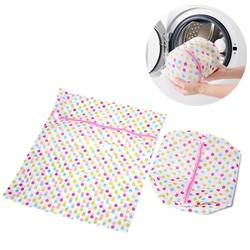 Combo 2 túi lưới giặt quần áo dày dặn, loại tốt