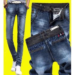 Quần jeans nam ống côn Mã: ND0682