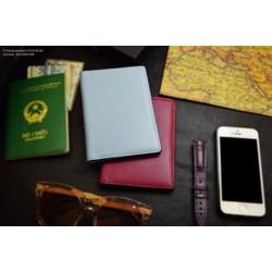 Ví đựng hộ chiếu Passport da bò Pali