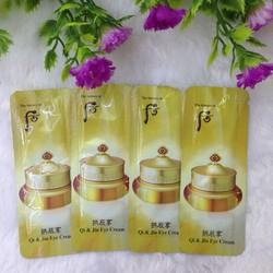 Kem dưỡng chống nhăn vùng mắt chống thâm quầng Whoo Qi -Jin Eye Cream