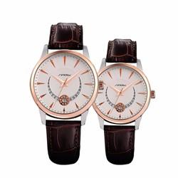 Đồng hồ cặp SINOBI dây da SI024  690k cặp