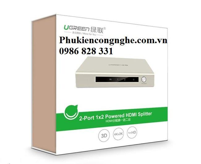 Bộ chia HDMI 1 ra 2 hỗ trợ 4K 2K chính hãng Ugreen UG-40276 4