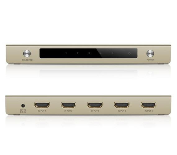 Bộ gộp HDMI 5 vào 1 ra hỗ trợ 4k x 2k chính hãng Ugreen UG-40279 2