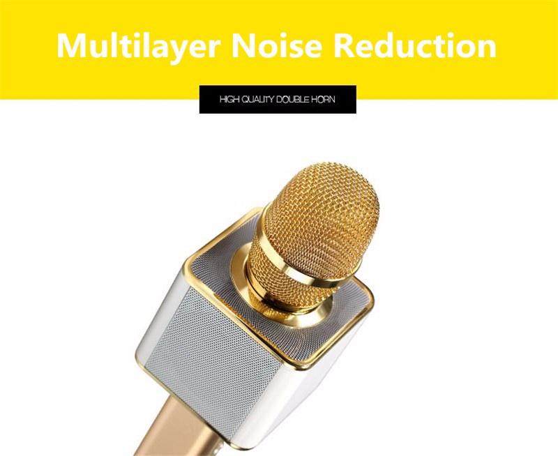 Micro karaoke kèm loa bluetooth YS10 4