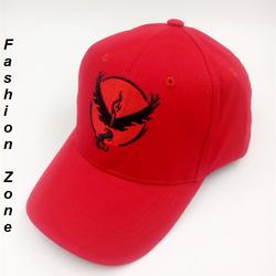 nón kết thời trang nón hiphop thêu hoạt hình pokemon nón bóng chày