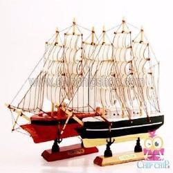 Mô  hình thuyền bờm
