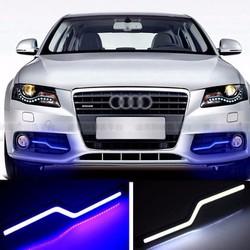 Đèn Led Audi COB Z đi ban ngày 18cm