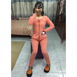 Set pijama cây nấm phối sọc- Hàng công ty