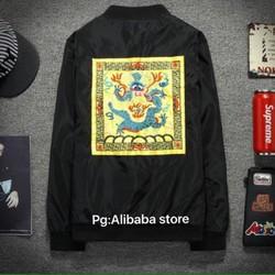 Áo khoác kaki hình độc - Hàng Quảng Châu cao cấp