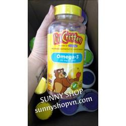 Kẹo Gummy bổ sung vitamin và DHA cho bé