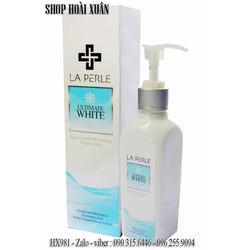 Kem dưỡng trắng da toàn thân laperle white skin lotion - HX981