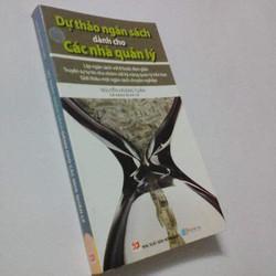 Sách Dự Thảo Ngân Sách Dành Cho Các Nhà Quản Lý